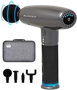 BlackLeaf Handheld Electric Muscle Massager Gun