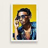 80 * 110cm Playboi Carti álbum de música popular hip hop rap rock super estrella rapero cantante...