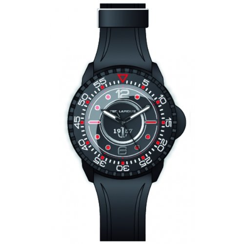 Ted Lapidus 5123203 - Orologio da polso, resina, colore: nero