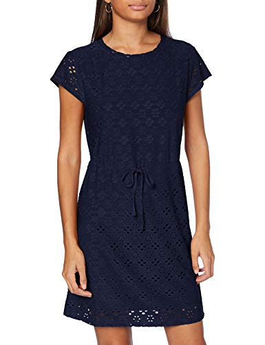 ONLY Damen ONLSONIA S/S Dress JRS Kleid, PeaFell, L