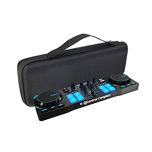 KT-CASE - Custodia protettiva per Hercules DJControl Compact, borsa per il trasporto per DJ Compact