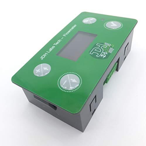 Totalizzatore contatore contalitri con allarme programmabile + ingresso di reset + porta di monitoraggio + sensore di flusso 1' pollice (DN25)
