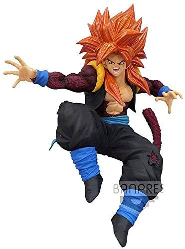 Lianlili Carácter de Dragon Ball Noveno Aniversario de Super Saiyan 4 Regalos Gogeta Figura de acción de colección for los Fans de Dragon Ball