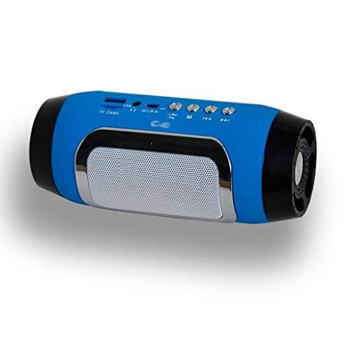 Altavoces portátiles Bluetooth Altavoz Bluetooth Altavoces de columna inalámbrica para soporte de computadora TF FM Radio Radio Barra de sonido Altavoz del altavoz (Color: C) mei (Color : C)
