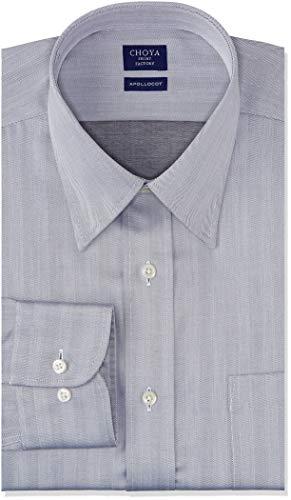 [チョーヤ] CHOYA SHIRT FACTORY 長袖メンズワイシャツ アポロコット CFD823 480-レギュラー 日本 3878 (日本サイズS相当)