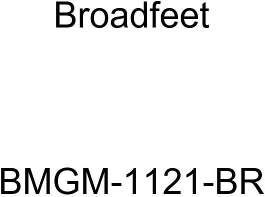 2014-2016 Cadillac CTS Row 1 /& 2 Broadfeet BMGM-1121-TN Floor Liner Tan