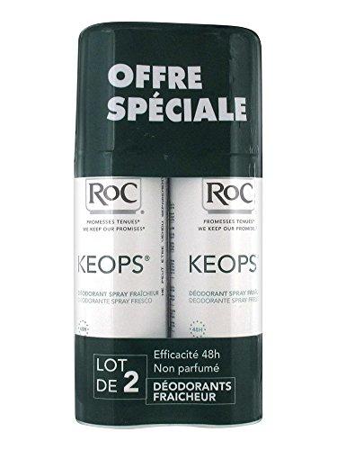Keops déodorant spray fraîcheur 2x100ml
