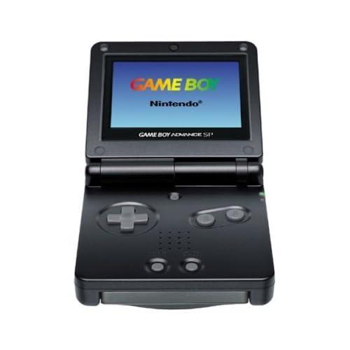 Nintendo - GameBoy Advance SP - Negro [Game Boy Advance ...