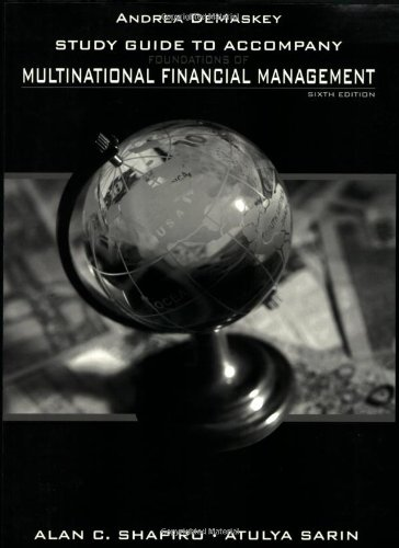 Multinational Financial Management, Study Guide
