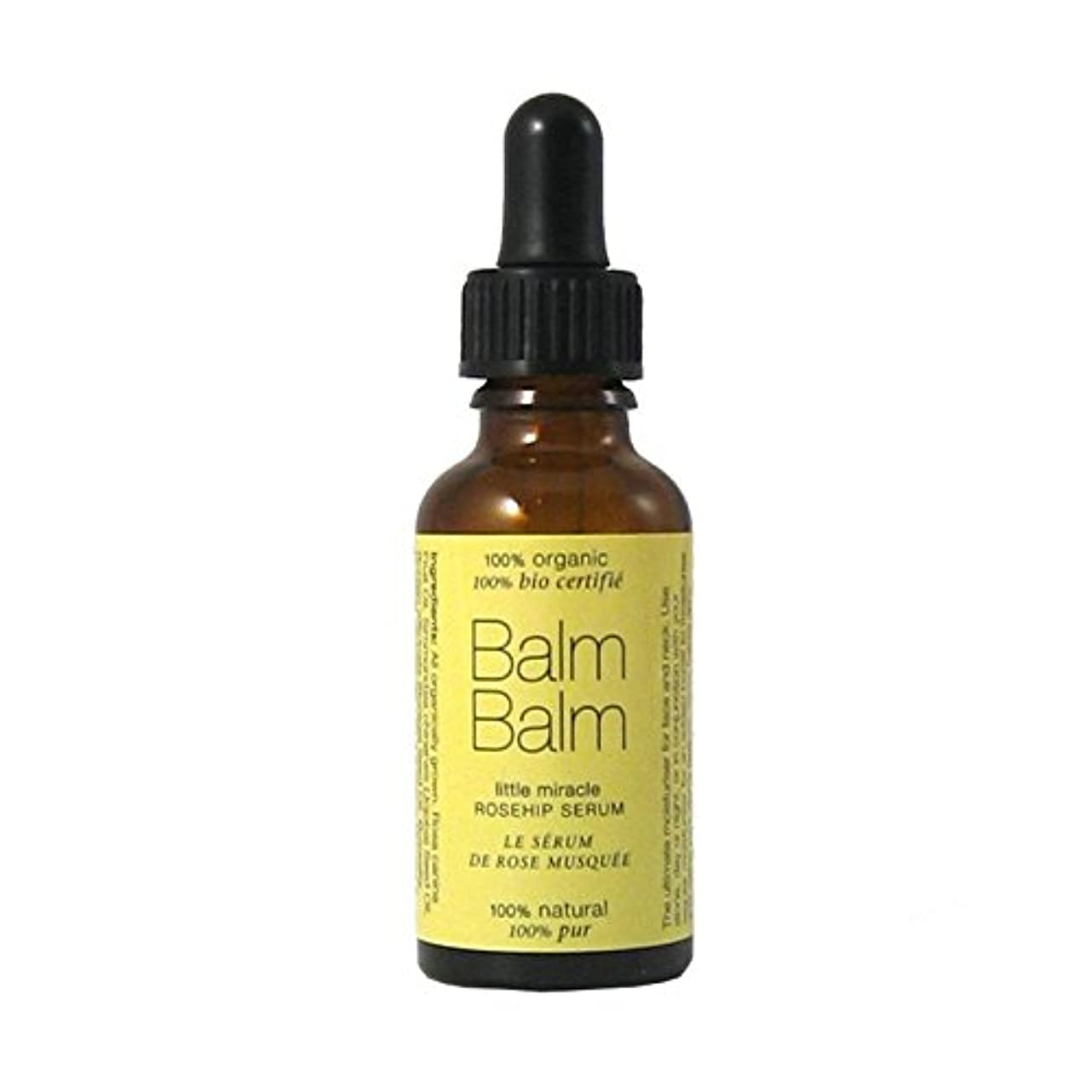 ナチュラル典型的なシニスBalm Balm Little Miracle Organic Rosehip Serum 30ml (Pack of 6) - バームバーム少し奇跡の有機ローズヒップ血清30ミリリットル x6 [並行輸入品]