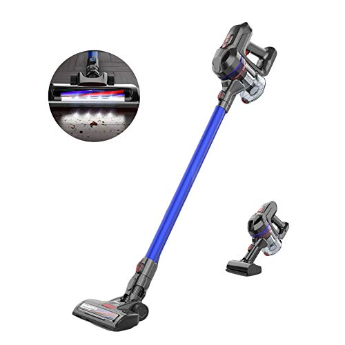New LFEWOX Stick Vacuum,Cordless Ultra-Light 12Kpa Power Suction with 2200mA Hand Vac Up to 35 Mins ...