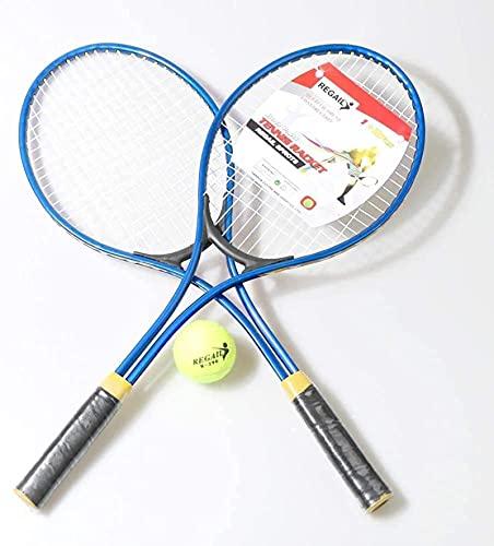 Raquetas De Tenis Para Niños S, Raqueta De Tenis Para Adolescentes, Niños Adultos Para Entrenar Tenis, Raqueta Para Niños, Diseño Unisex Para Hombres, Raqueta Para Deportes Al blue