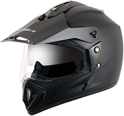 Off Road D/V Black Helmet-M