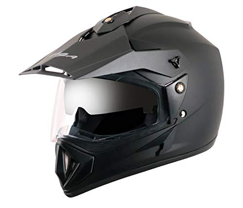 Vega - OR-D/V-DK_M Off Road D/V Black Helmet-M