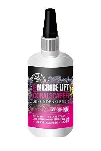 MICROBE-LIFT Coralscaper - Korallenkleber - Sekundenkleber in Gel-Form, einfache & sichere Verwendung in jedem Meerwasseraquarium, 50g