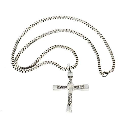 Collier chaine + pendentif vin diesel fast and furious