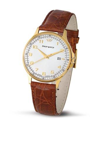 Philip Watch R8051160145 - Orologio da polso uomo, pelle