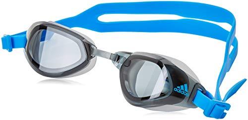 adidas Jungen PERSISTAR FIT Schwimmbrillen, Smoke Lenses/Bright Blue/Bright Blue, S
