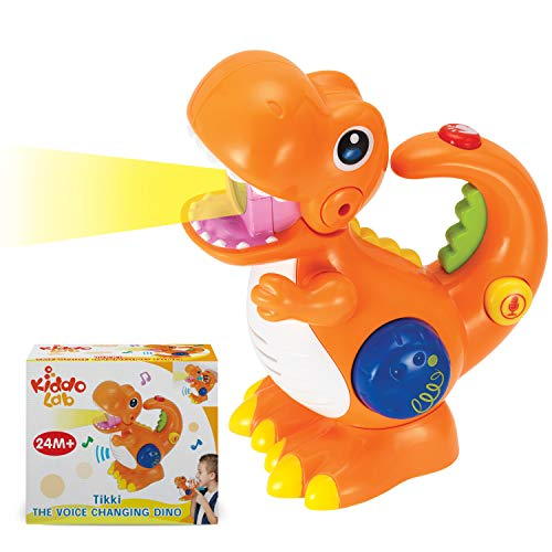 Lowest Price! KiddoLab Tikki The Dino Voice Changer, Recording & Playback Toy Microphone.Sing Along ...