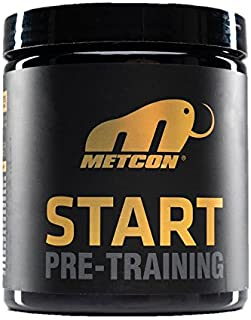 MetCon Start Pre-Workout Supplement- The Ultimate Pre Training Powder For Nitric Oxide Production & Lactic Acid Build Up -...