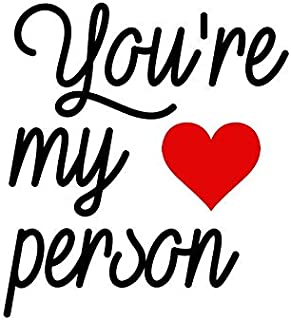 you are my person tattoo