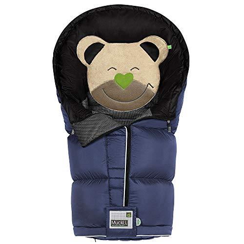Odenwälder BabyNest Fußsack Mucki L classic | 12282-225 | passend für alle Kinderwagen und Buggy | light denim