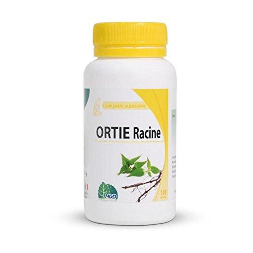 MGD Nature - Complément alimentaire Ortie Racine Bio - 22,95 g - 90 Gélules