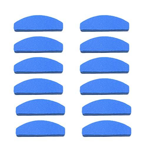 Minkissy 20 Pcs Éponge à Ongles Mini Fichier Manucure Polisseur Bande Bloc Broyage Ongle Tampon Art Outil pour Fille Dame Maison Bricolage Nail Art Salon