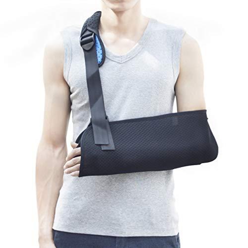 HEALLILY Arm Sling Shoulder Immobilizer Adjustable Medical Sling Wrist Elbow Forearm Support for Broken Fractured Bones for Adult Kids Size S