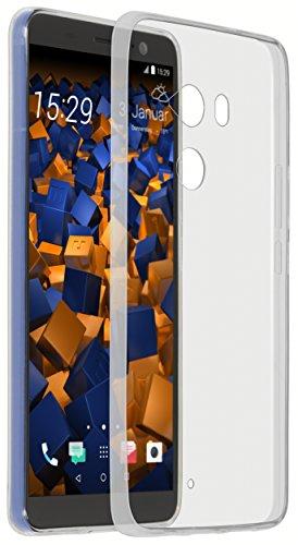 mumbi Custodia UltraSlim compatibile con HTC U11+, chiaro