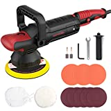 Dual Action Polisher Kit, Meterk Random Orbit Car Polisher and Buffers 1200W Car