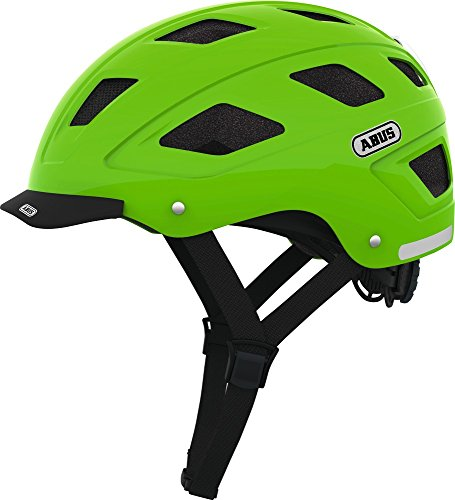 ABUS Unisex Adult's Hybad with LED Helmet