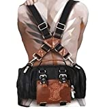 Attack on Titan schoolbag Eren cosplay backpack mechanical operator bag,Shoulder bag and backpack can be switched freely