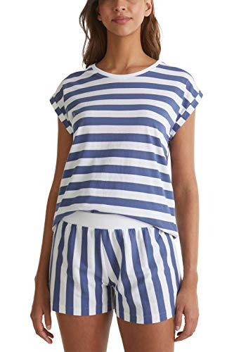 ESPRIT Bodywear Damen DEENAH CAS NW Pyjama Pyjamaset, 100, 36