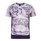 Inception Pro Infinite Maglia - T-Shirt - Joker - Uomo - Cosplay - Idea Regalo (Taglia M)