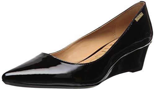 Calvin Klein Damen Germina, schwarzer Lack, 39.5 EU