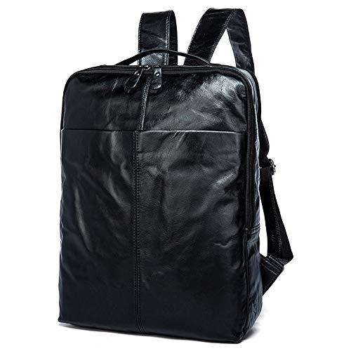 Vintage Leather Backpack Everyday Casual Sport Backpack Shoulder Bag for Business Travel for Men and Women, Colour, grey-onesize