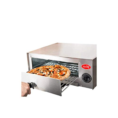 Pizza Oven Stainless Steel Pizza Maker, 12' Pizza Ovens Countertop, Pizza Cooker For Home & Businesses