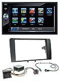 Blaupunkt Santa Cruz 370 SD Bluetooth 2DIN MP3 USB AUX Autoradio für Audi A3 06-12 8P Infinity Aktivsystem