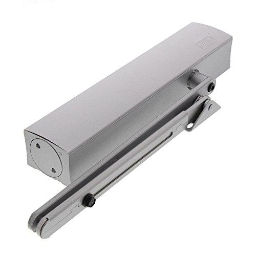 BURG-WÄCHTER Türschließer für Außen– und Innentüren, hydraulisch, variabel einstellbar, Breite bis 140 cm, Gewicht bis 180 kg, TS 4000 V S, Silber