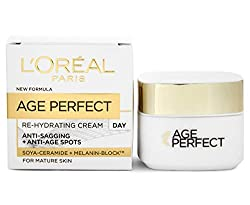 Targets sagging and age spots Enriched with soya peptides and melanin-block Skin feels hydrated, smoother and more comfortable The appearance of dark pigmentation appears reduced A source of hydration for mature skin L'Oréal are removing the cellopha...