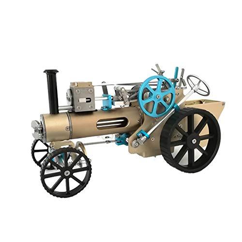 DAN DISCOUNTS Motor Bausatz, Dampfwagen Auto Motor Modellbau, Mini Engine Kit Motormodell Pädagogisches Spielzeug für Technikbegeisterte und Erwachsene