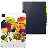 igsticker iPad Pro 12.9 インチ inch 2020 対応 シール apple アップル アイパッド 専用 A2229 A2069 全面スキンシール フル タブレットケース ステッカー 保護シール 014995 秋 味覚 果物