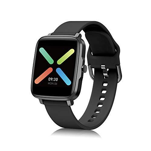 Smartwatch Uomo Donna Orologio Fitness Tracker Impermeabil IP68 1.54'' Full Touch Bluetooth Smart Watch con Cronometro Notifiche Messaggi Orologio Sportivo Calorie Activity Tracker per Android iOS