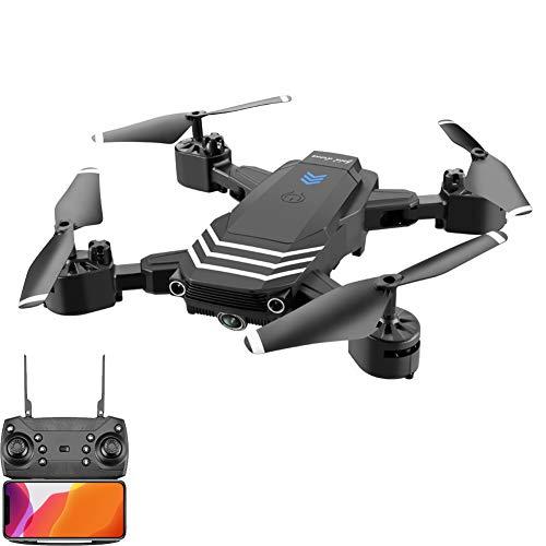 MiNi 2.4Ghz RC Drone Quadcopter met WiFi FPV 4K Dubbele camera's, Headless Mode/One-Click Auto Return/Altitude Hold Mode, Afstandsbediening Vliegtuigen voor kinderen Beginners Volwassenen