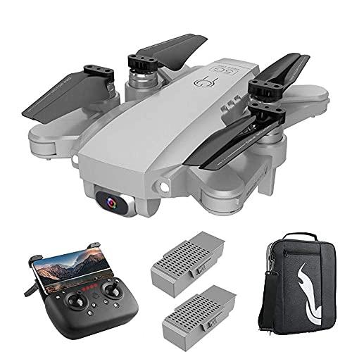 DCLINA Drone 5G WiFi FPV 4K con Motore brushless, Trasmissione Immagini 3 km e Distanza Volo, Zoom 50x, Resistenza al Vento Livello 7, Tempo Volo 25+25 Minuti