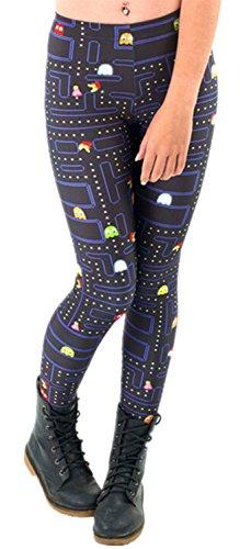 Tamskyt - Mallas ajustadas para mujer, con estampado digital de unicor