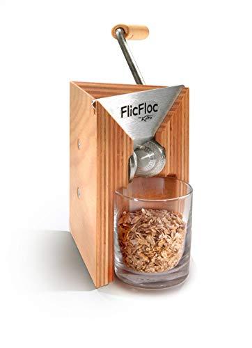 KoMo FlicFloc Flockenquetsche (Handflocker, Holz)
