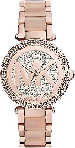 Michael Kors Women's Parker Two-Tone Watch MK6176