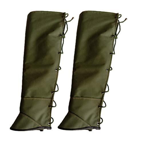 XGG Hiking Gaiters Leg Gaiters,1 Paar Duurzame Waterdichte Warmte Gaiters Voor Outdoor Wandelen Klimmen Jagen Skiën, Ballistische Nylon Doek, Codering Canvas